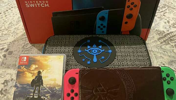 Nintendo Switch V2 Zelda Bundle