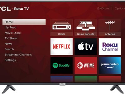 TCL 4K Smart LED TV, 50″