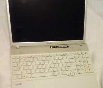 Sony Vaio Laptop, win10,232gb ssd 8gb Ram