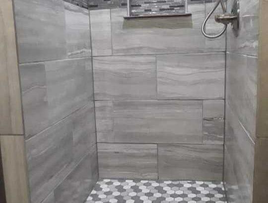shower installing