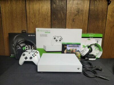 Xbox One S All-Digital Edition 1TB Video Game Cons