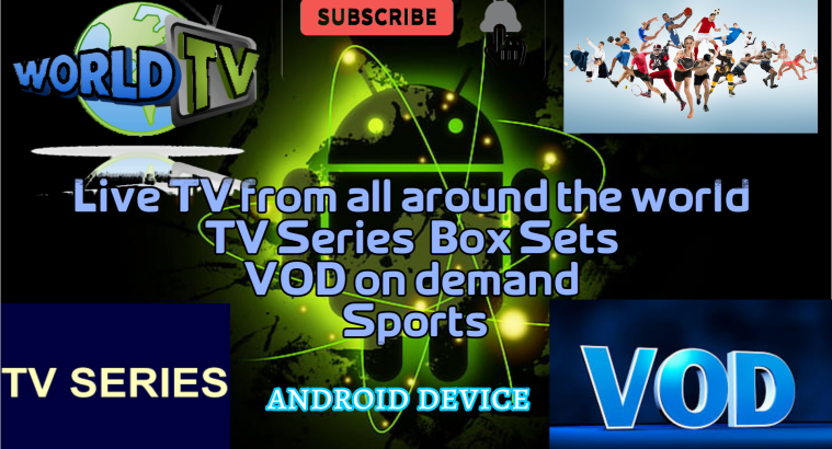 WORLDWIDE TV ANDROID DEVICE