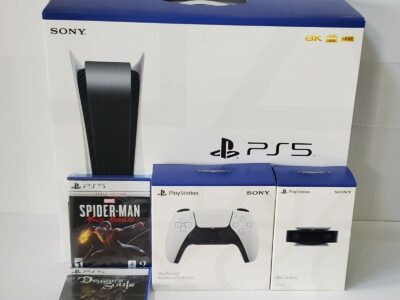 New Sony PlayStation 5 Game Disc Edition