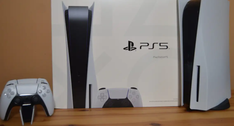 PlayStation 5 console available