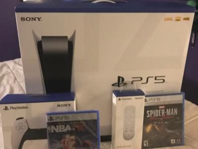 Sony PlayStation 5 PS5 Console Digital Edition