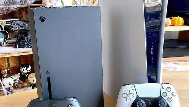 PS5 for sale with controllers