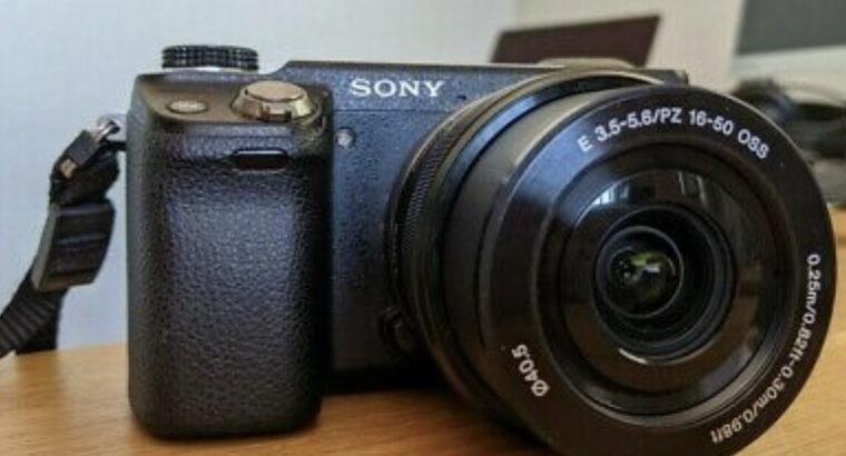 Sony Alpha NEX-6 16.1MP Digital Camera – Black ( w
