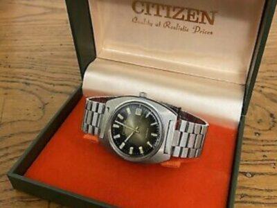 Vintage Citizen Automatic Date 21 Jewels Mens Watc