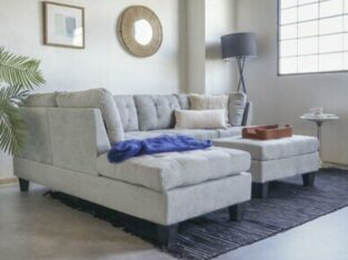 Contemporary Sofa Reversible L-Shape Sectional Set