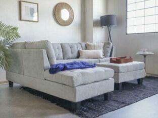 Contemporary Sofa Reversible L-Shape Sectional Set