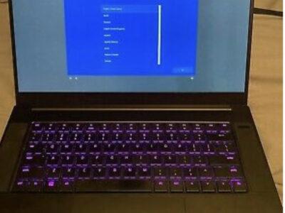 Razer Blade 15 Gaming Laptop (15.6″ Screen, Intel