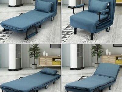 Sofa Bed Folding Arm Chair Width Convertible Sleep
