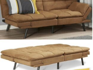 Memory Foam Futon Sofa Bed Couch Sleeper Convertib