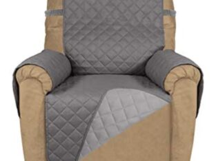 PureFit Reversible Quilted Recliner Sofa Cover, Wa