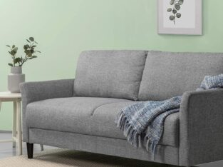 ZINUS Jackie Sofa Couch / Easy, Tool-Free Assembly