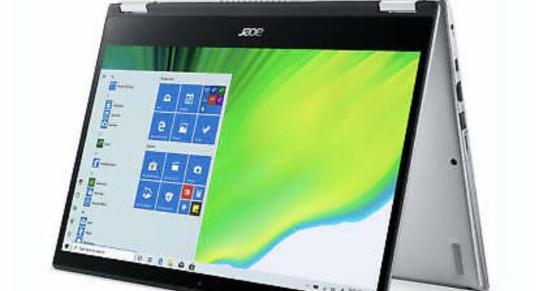 Acer Spin 3 – 14″ Laptop AMD Ryzen 3 3250U 2.6GHz