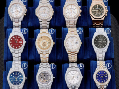 Real ice box watch