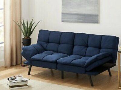 Memory Foam Futon Sofa Bed Couch Sleeper Convertib