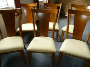 Allders 'Art Deco' style dining chairs