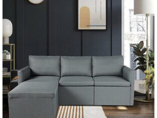 Convertible Sectional Sofa Couch, Modern Li