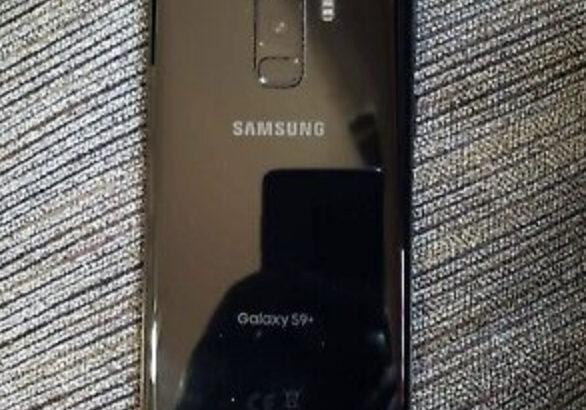 Samsung Galaxy S9+ SM-G965 – 64GB – Midnight Black