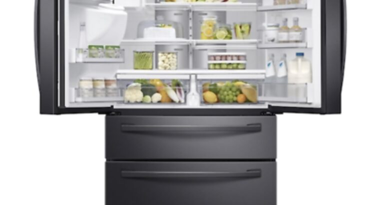 Samsung RF28R7551SG Black Stainless Steel French 4
