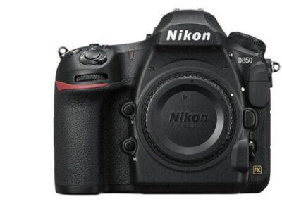 Nikon D850 Digital SLR Camera Body 45.7MP 4K FX-fo