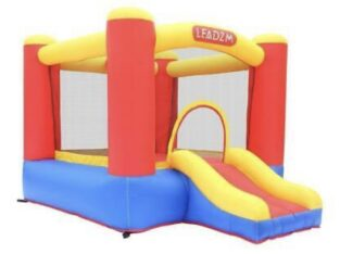 Safe Inflatable Bounce House Kids Slide Jumping Bo
