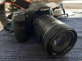 Canon EOS 60D 18.0 MP DSLR Camera + 18-135mm f/3.5