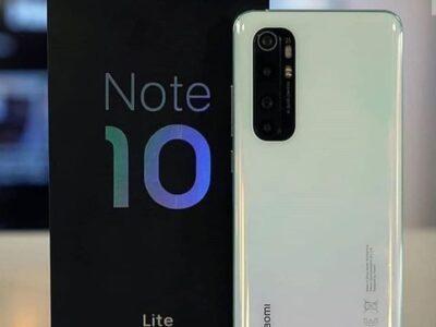 Xiaomi Note10 Lite 8GB RAM/256GB ROM