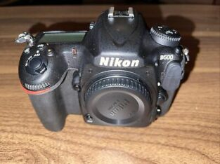 Nikon D500 20.9 MP Digital SLR Camera – Black
