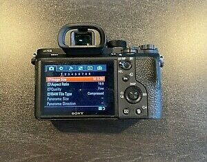 SONY a7sII Body Only *With Box and Batteries