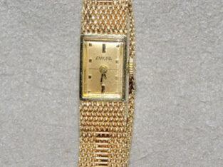 Jewelry Bracelet Watch Womens Vintage 14k Gold ENI