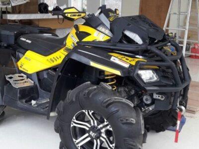 2012 CAN AM OUTLANDER XMR ATV