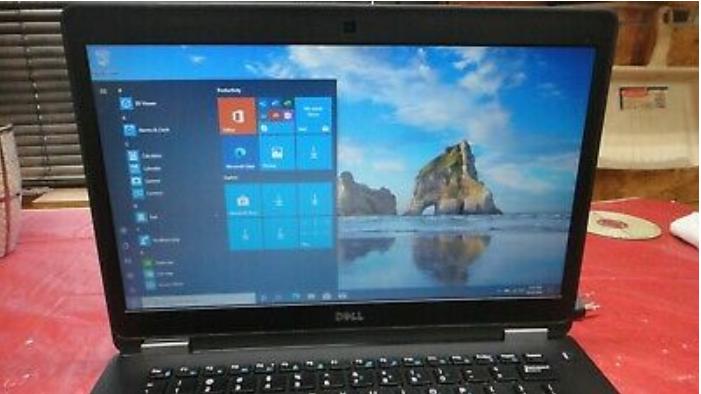 Dell Latitude E7470 14″ Laptop Core i7-6650U 2.2GH