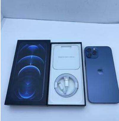 Apple iPhone 12 Pro Max – 256GB – Pacific Blue (Un