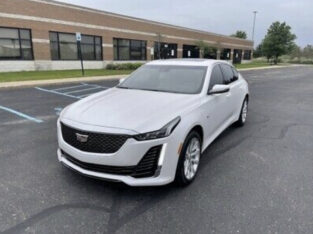 4 months used 2020 Cadillac CT5 Luxury