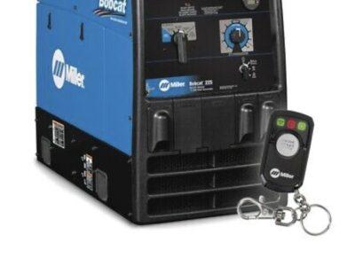 Miller Bobcat 225 Kohler Welder/generator With Rem