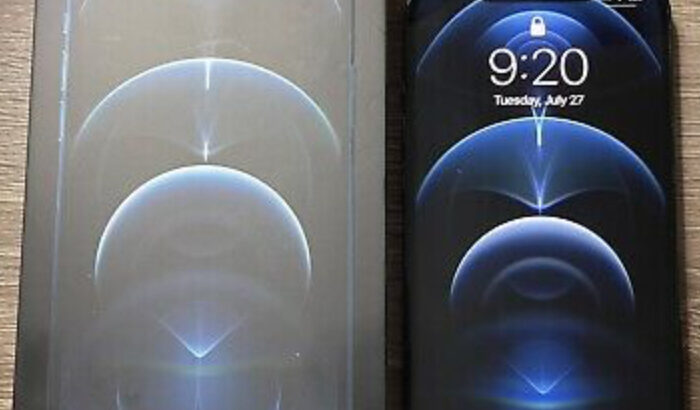 Apple iPhone 12 Pro Max Pacific Blue 256GB Unlocke