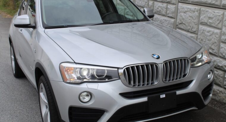 2016 BMW X4 XDRIVE28I SPORT UTILITY 4D