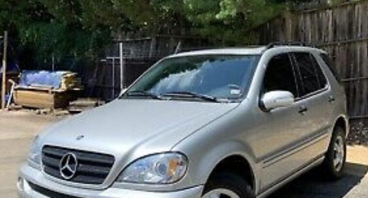 2003 Mercedes Benz M-class