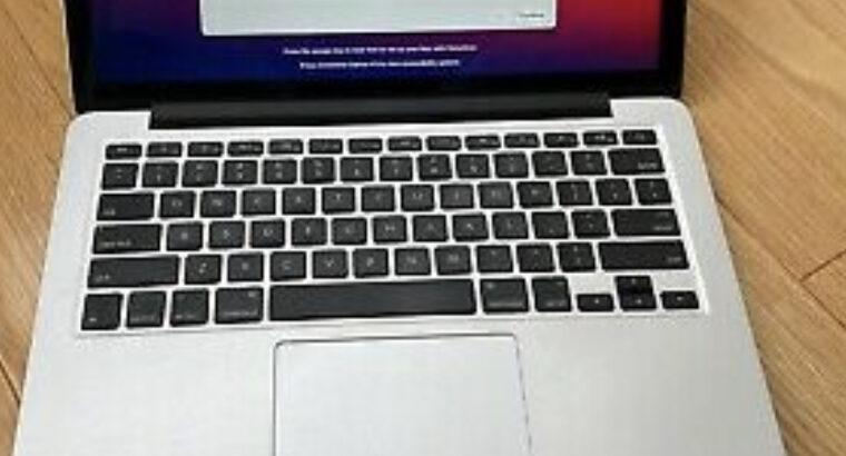 mac book pro retina, 4GB 13 inch, late 2013