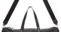 Versace Black Bondage Duffle Bag