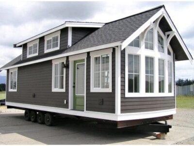 Mobile prefab modular home