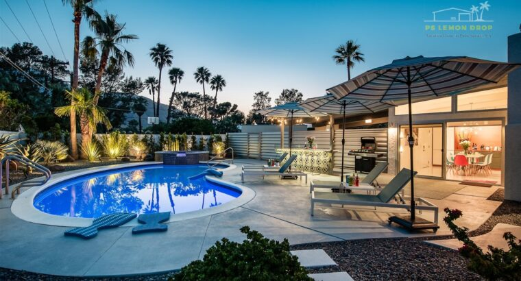 Vacation House for Rent in Palm Springs, Californi