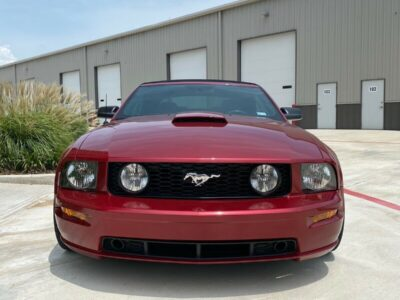 2007 Ford Mustang GT 2007 Ford Mustang Convertible
