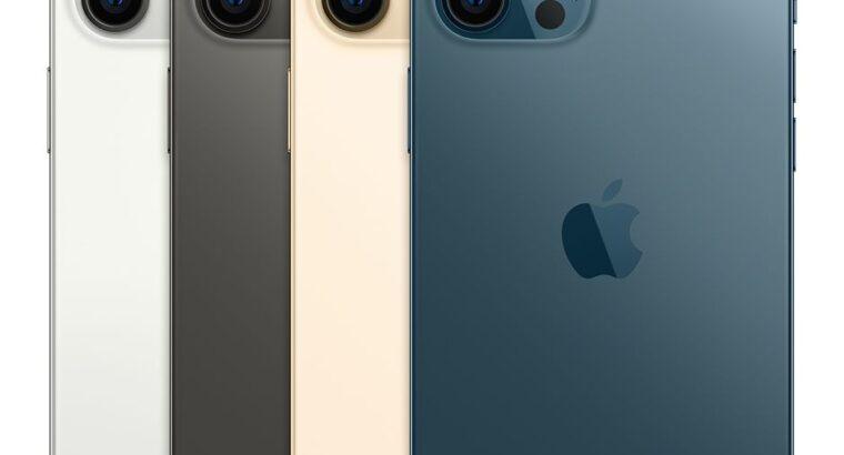 Buy iPhone 12 Pro Max – 256GB – Pacific Blue (Un