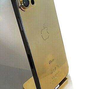 18K iPhone 12 Pro Max 512Gb Gold Plated Unlocked B