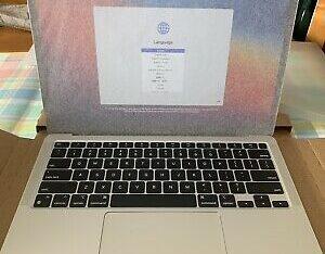 Apple MacBook Air 13in Laptop – Silver.