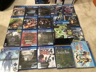 PlayStation 4 Games – PS4 – Various Games